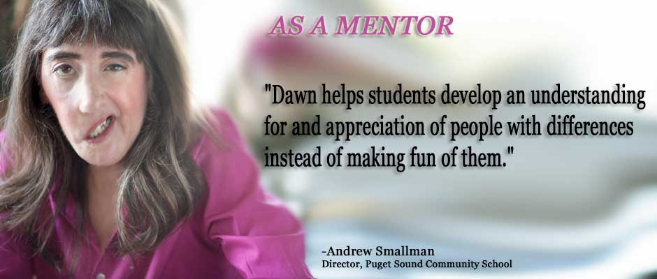 Dawn As A Mentor